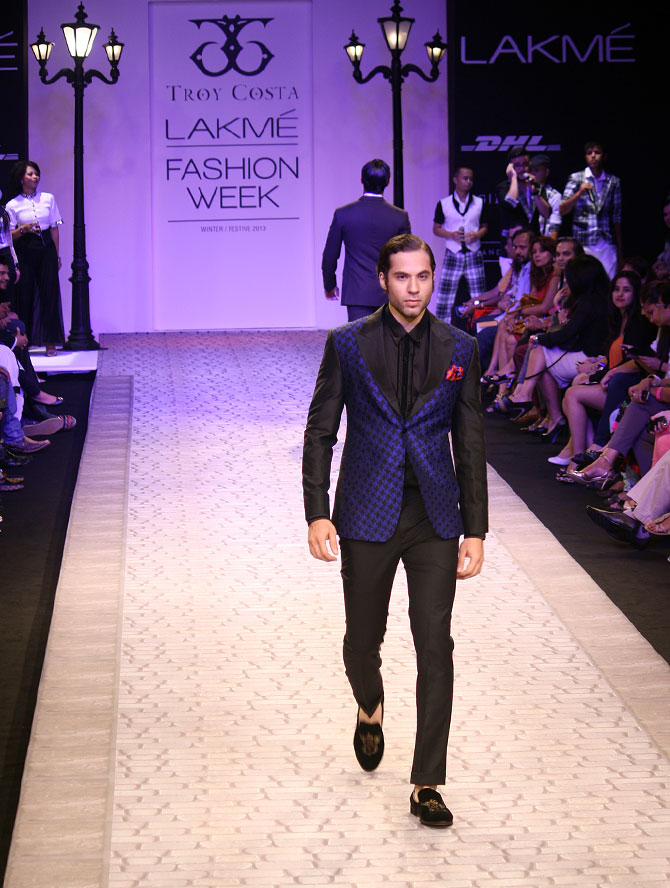 FINALLY! Something for the men at LFW