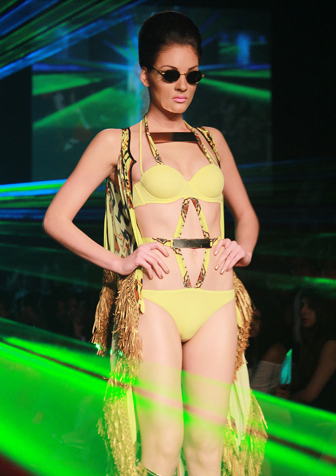 Don't miss: Daring bikinis, minis and jumpsuits at LFW