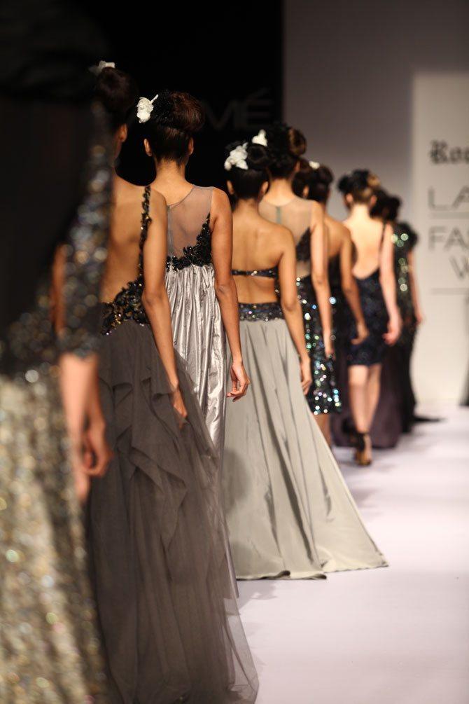 Glamorous in black: Ankita Shorey dazzles for Rocky S