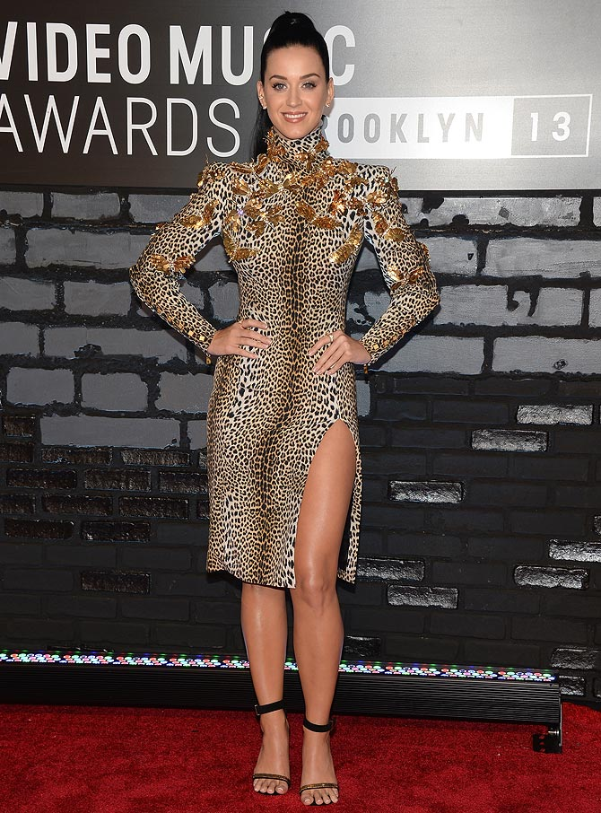 Katy Perry attends the 2013 MTV Video Music Awards at the Barclays Center on August 25, 2013 in the Brooklyn borough of New York City