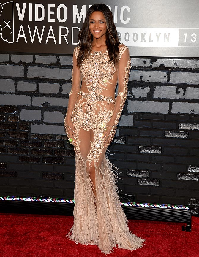 Ciara attends the 2013 MTV Video Music Awards at the Barclays Center on August 25, 2013 in the Brooklyn borough of New York City