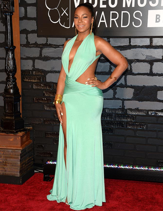 Ashanti attends the 2013 MTV Video Music Awards at the Barclays Center on August 25, 2013 in the Brooklyn borough of New York City