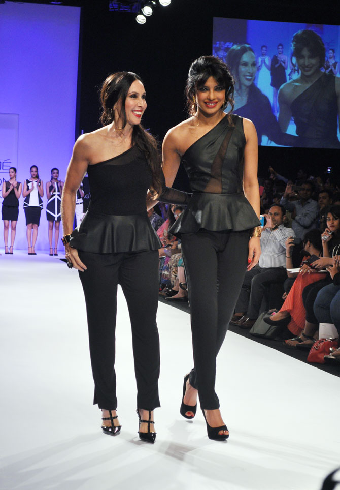 Priyanka Chopra walks for Bisou Bisou