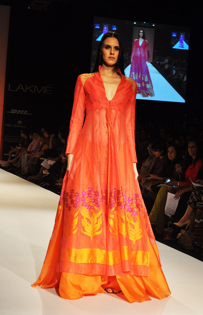 PIX: Indian weaves go fabulously glam!