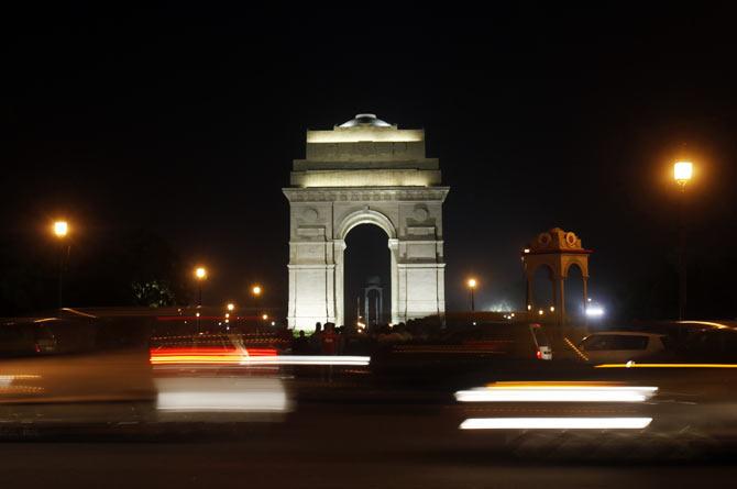 Nightlife in Delhi has stood for a stroll near the India Gate, says Aditi Bose.