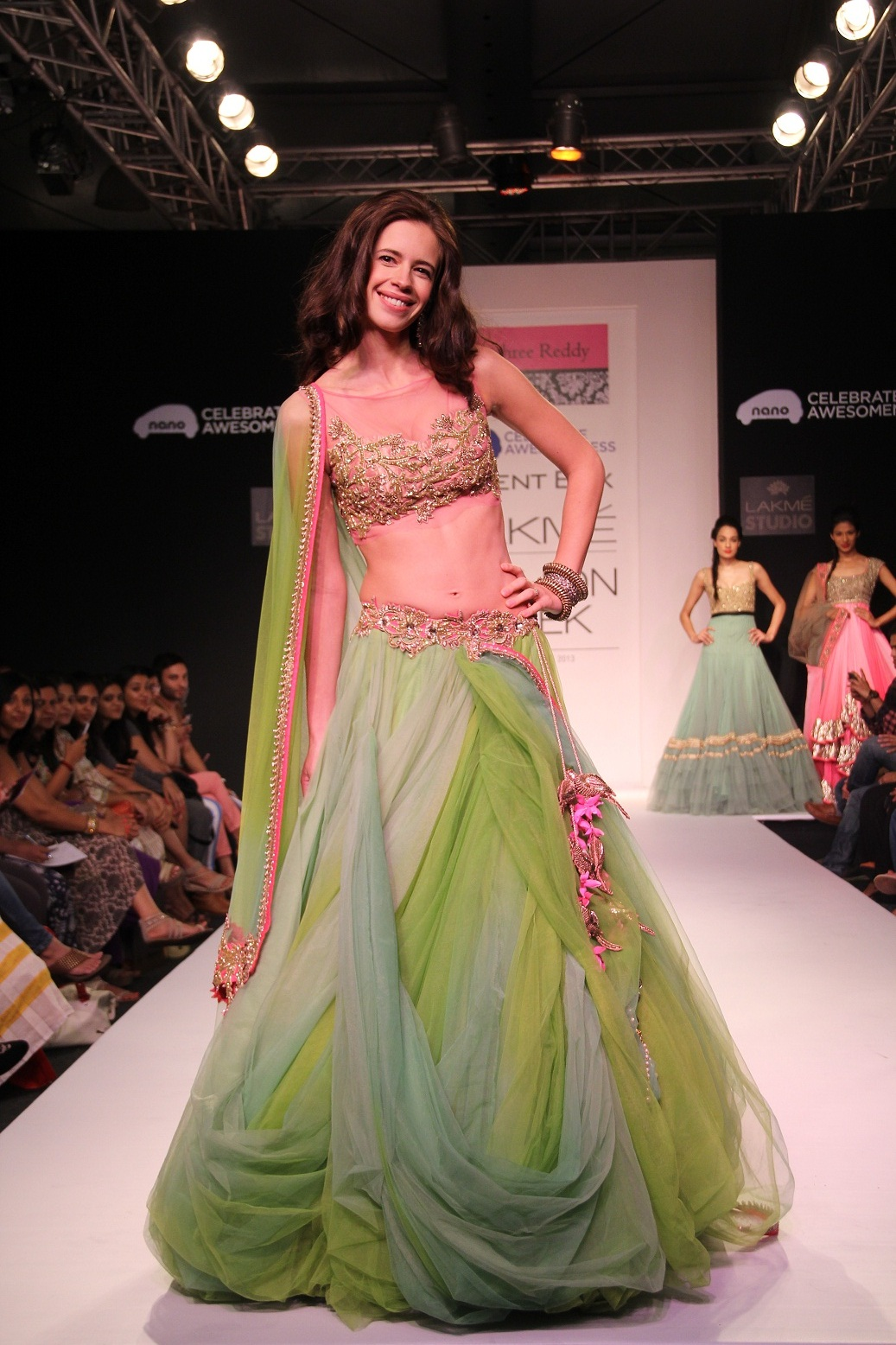 Kalki Koechlin for Anushree Reddy