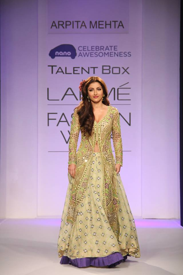 Soha Ali Khan for Arpita Mehta