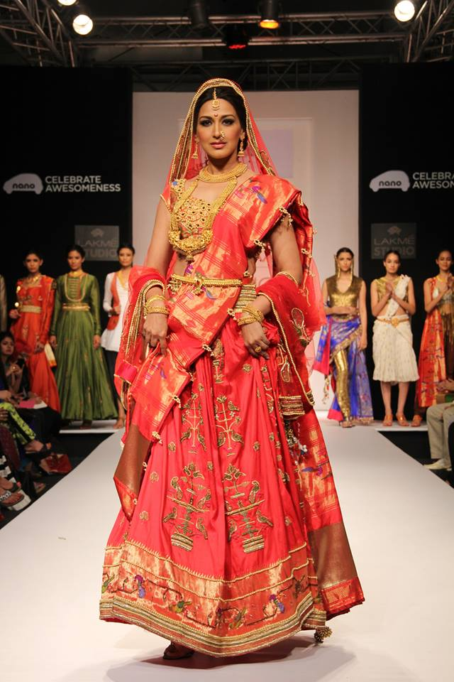 Sonali Bendre for Harshita Deshpande