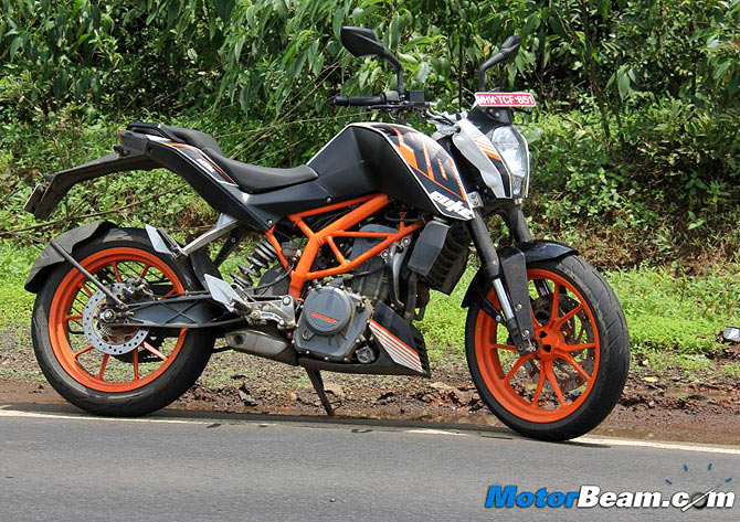 bike review: ktm duke 390 is a pocket mein rocket! - rediff getahead