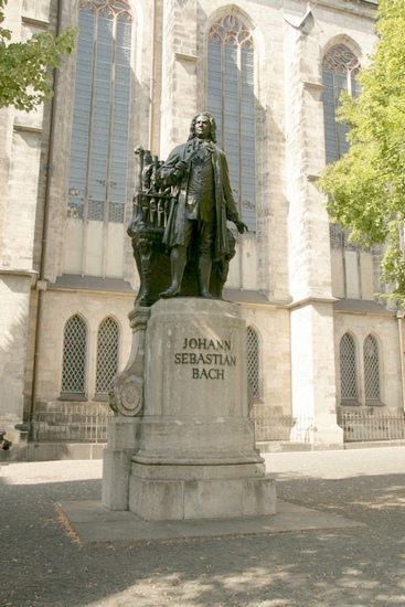 Bach monuments in Leipzig