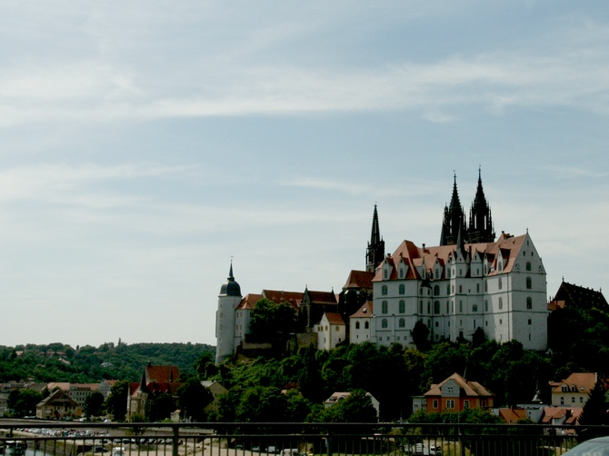 Meissen's Albrechtsberg castle and Gothic Cathedral