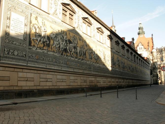A mural in Dresden