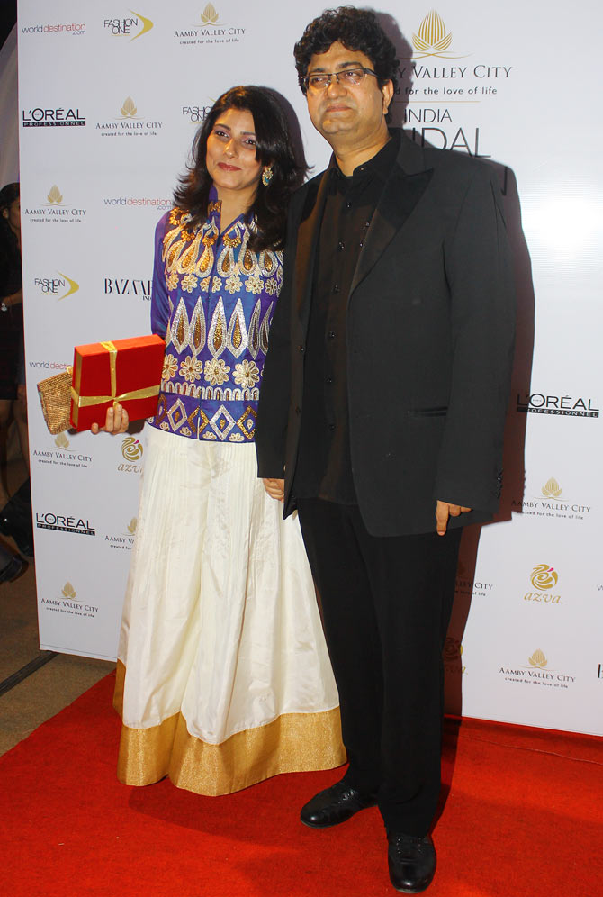 Aparna Joshi and Prasoon Joshi