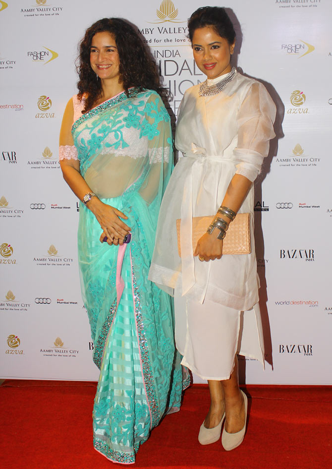 Sushama and Sameera Reddy