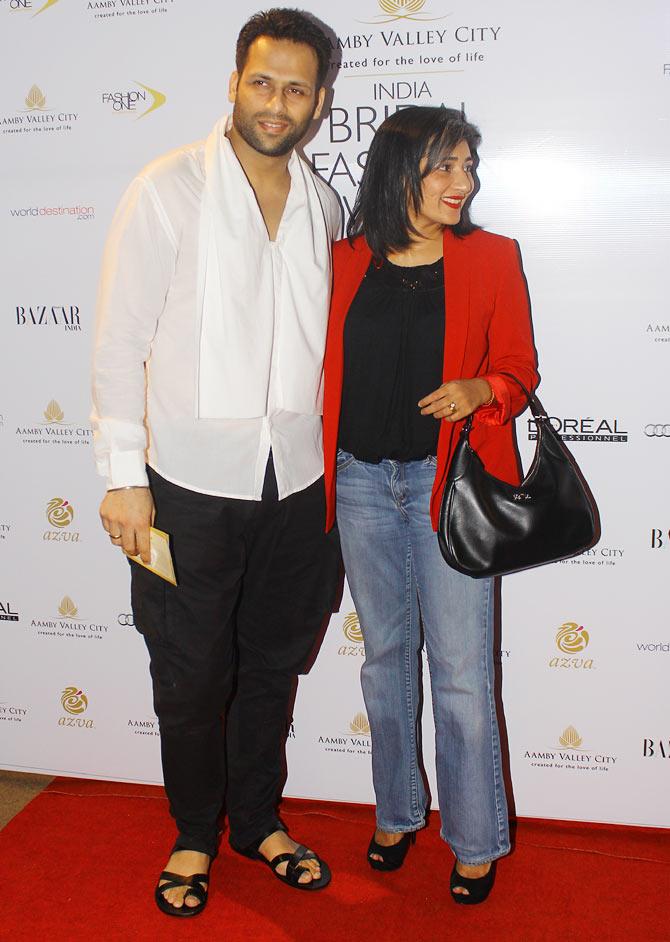 Bikram Saluja and Schauna Chauhan
