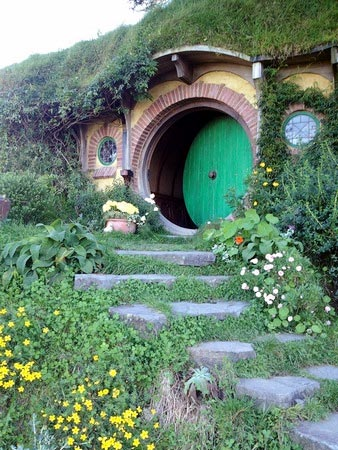 New Zealand's Hobbiton that has become immensely famous with Lord of the Rings fame as 'the place where hobbits live'.