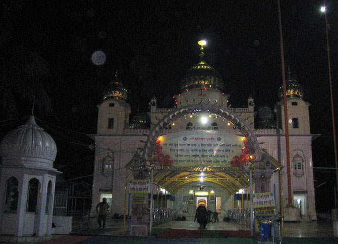 Gurudwara Fatehgarh Sahib was built to commemorate the martyrdom of Guru Gobind Singh.