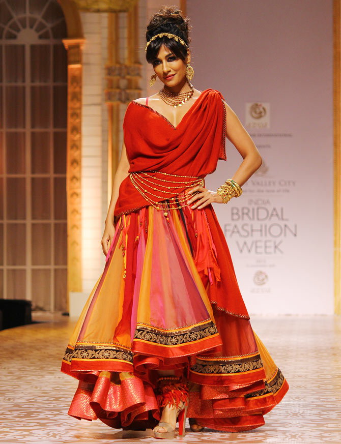 Chitrangada Singh in a Avza creation