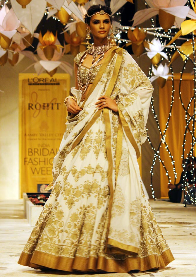 A Rohit Bal creation