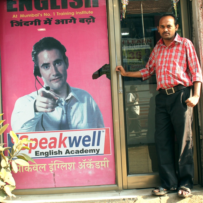 Speak Well claims to be Mumbai's 'No. 1 training institute'. Across 70-odd centres including those outside of the city, it provides employment to about 640 people.