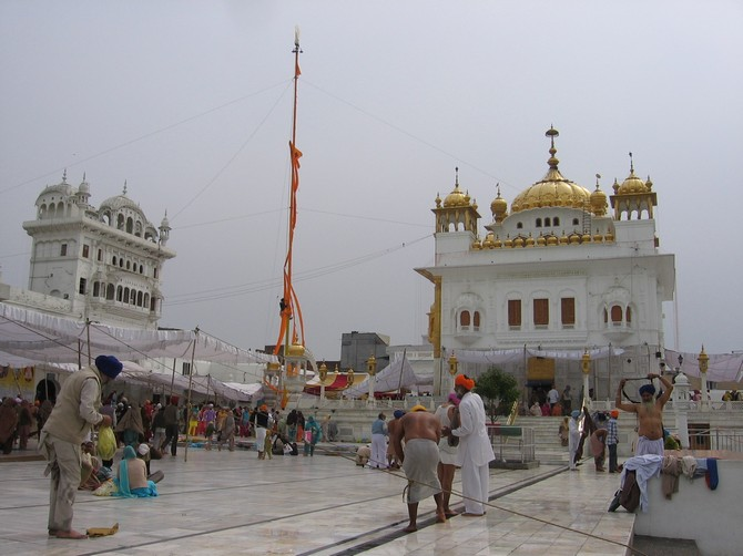 Sri Darbar Sahib at Tarn Taran