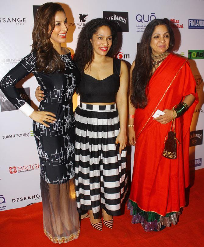Sophie Choudry, Masaba and Neena Gupta
