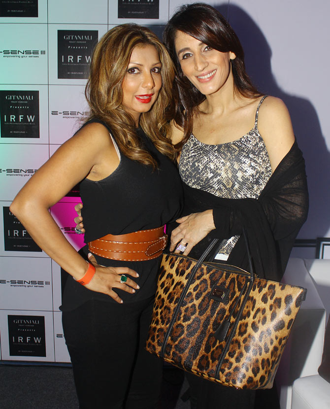 Ramona and Farah Khan Ali