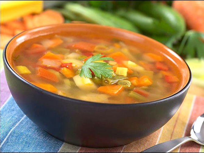 Hearty winter soup