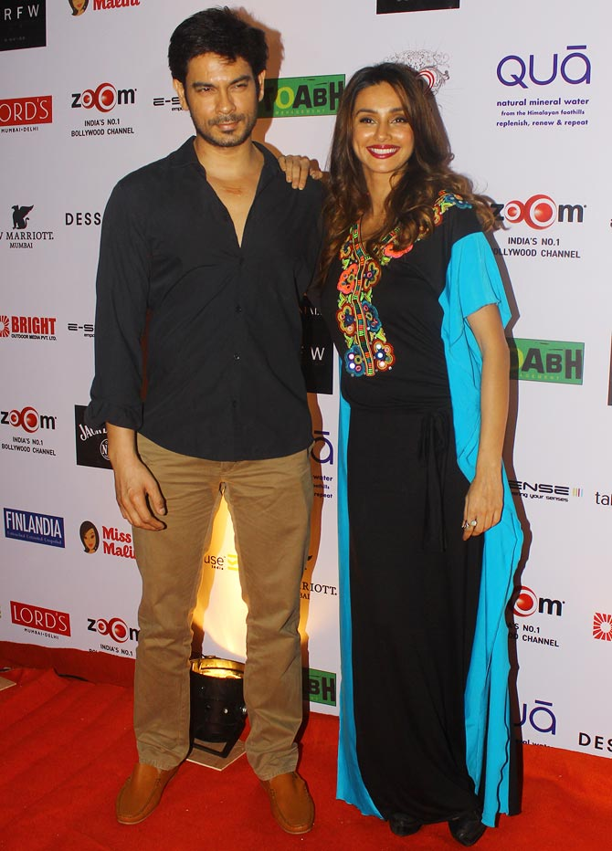 Keith Sequeira and Shibani Dandekar
