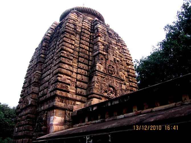 Parasurameswar, supposedly the oldest temple of Bhubaneshwar