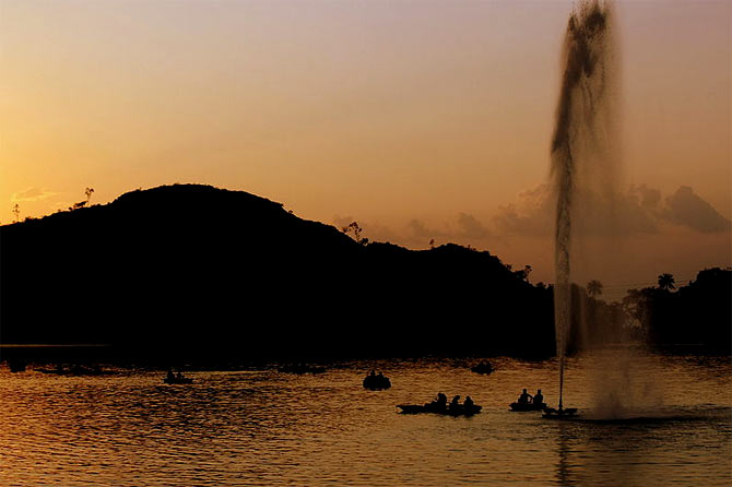 Visit Mount Abu in the summers instead of heading there now.