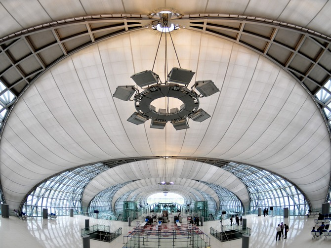 Suvarnabhumi Airport, Bangkok had topped the list of the places most photographed on Instagram last year.
