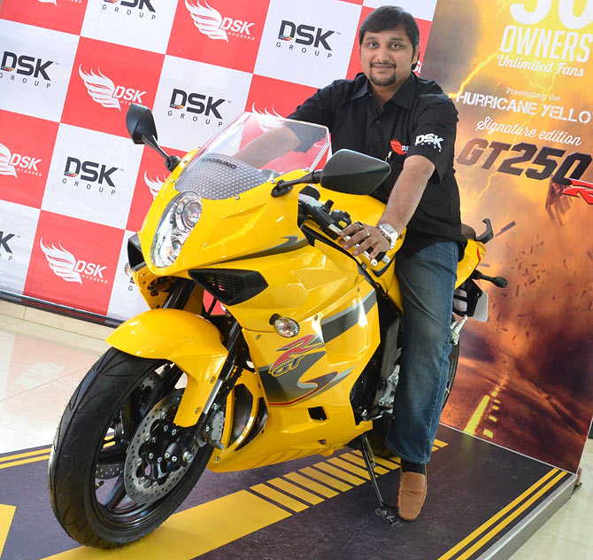 Only 50 people will get to ride this Hyosung superbike