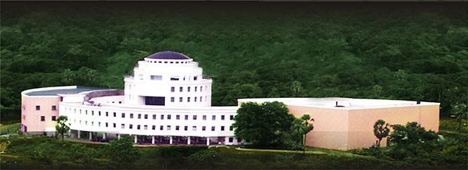 The Whistling Woods Campus at Film City, Mumbai