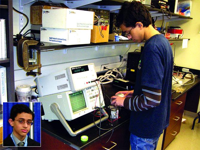 Saumil Bandyopadhyay is a freshman at MIT