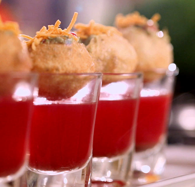 Pomegranate puri