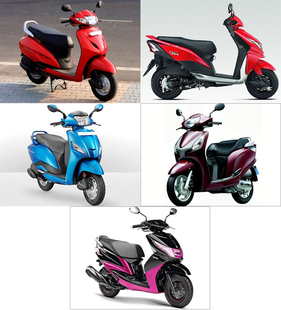 PICS: 2013's most popular 110cc scooters