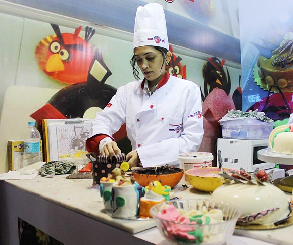 Chef Shweta Bothra studied baking from Wilton School, Chicago