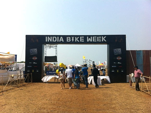 GLIMPSES of the 2013 India Bike Week