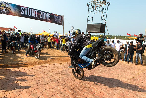 Stunt Zone in full flair