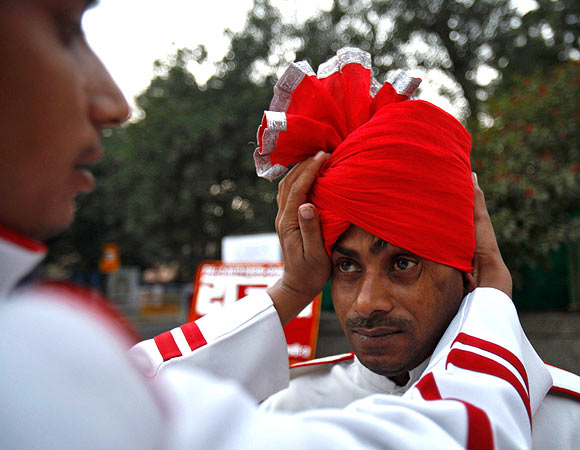 IN PICS: Lives of India's wedding band musicians
