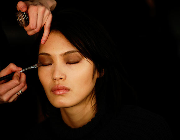 PHOTOS: Behind the scenes at New York Fashion Week