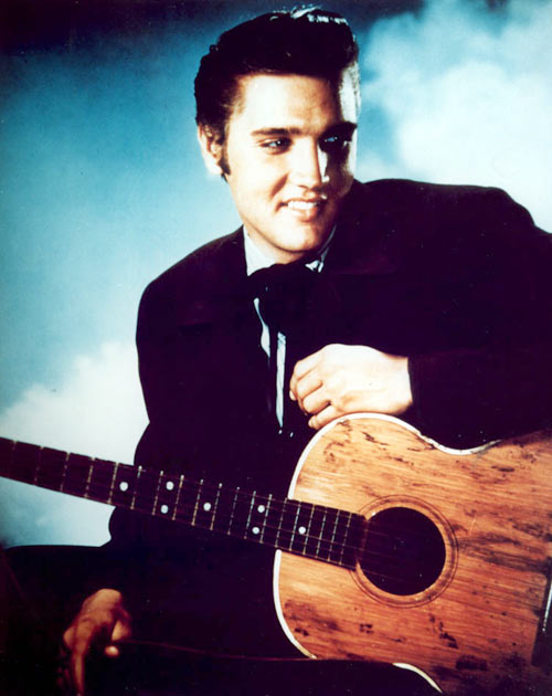 Elvis Presley, January 8, 1935, was among the famous people to be born in the year of the Dog