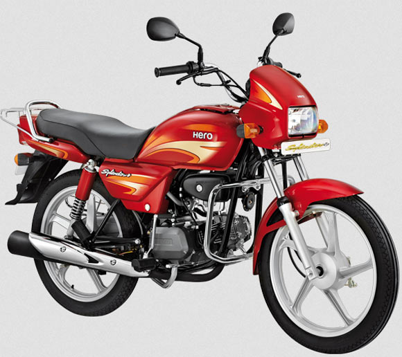 Bikes In India Hero MotoCorp Splendor Plus