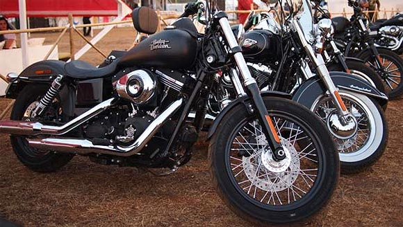 Harley Davidsons at IBW