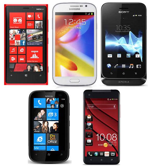 'Top 5 smartphones for Valentine's Day!'' - Valentine's Day Special 2013