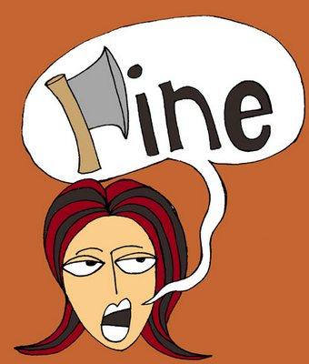 'Fine!'