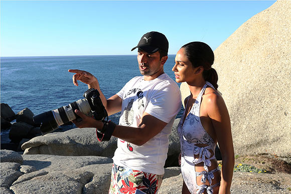 HOT: Behind the scenes of the Kingfisher Calendar