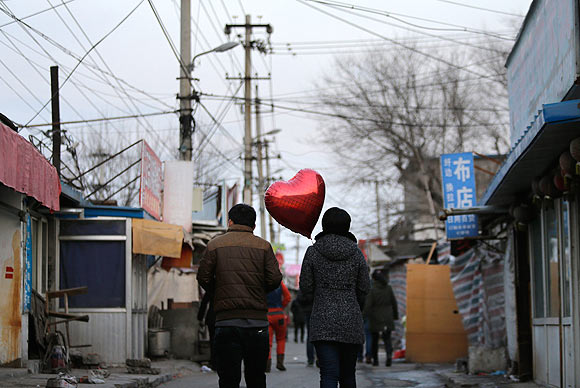 IN PICS: How the world celebrated Valentine's Day