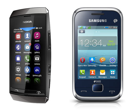 Nokia Asha vs Samsung Rex: What's better?